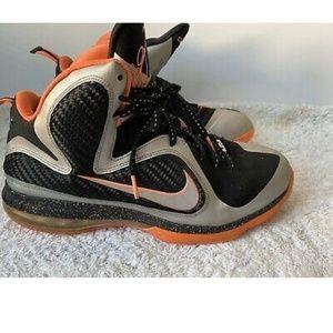 "2012 Nike Lebron 9 ""Bright Mango"" METALLIC S"